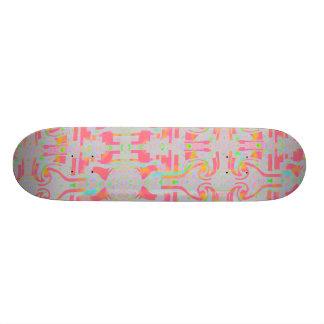 Skateboard In The Pink ZIZZAGO