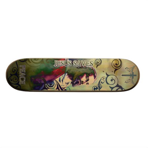 skateboard_JESUS101 19.7 Cm Skateboard Deck