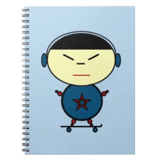 Skateboard Kid Notebook