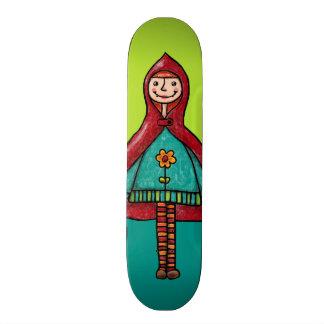 Skateboard, Little Red Riding Hood Custom Skateboard