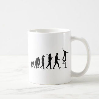 Skateboard lovers skatbeoarding skateboarder grind basic white mug