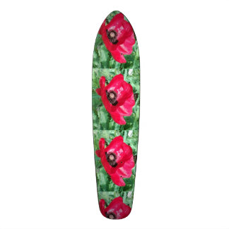 Skateboard Poppy Design