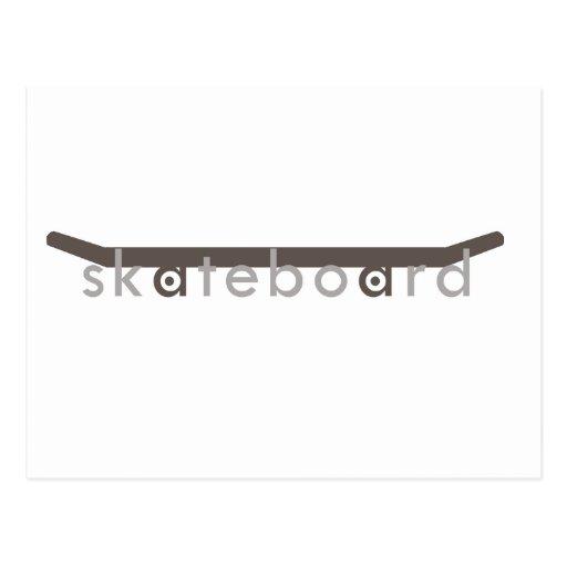 skateboard post cards