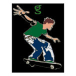 Skateboard Poster from I'm G Skateboards