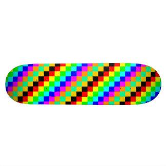 skateboard_pro little squars 20.6 cm skateboard deck