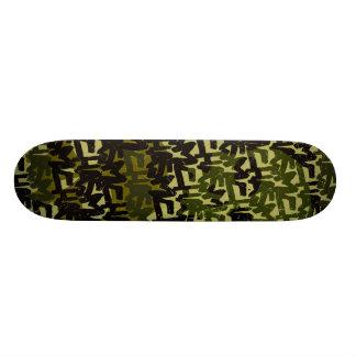 skateboard_pro with Chasm Skulls Design 19.7 Cm Skateboard Deck