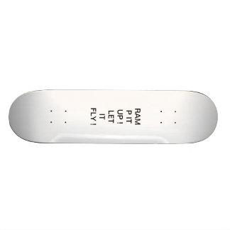 Skateboard, RAMP IT UP! LET IT FLY! Skate Board
