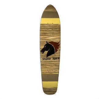 Skateboard Skater Spirit with wood sample