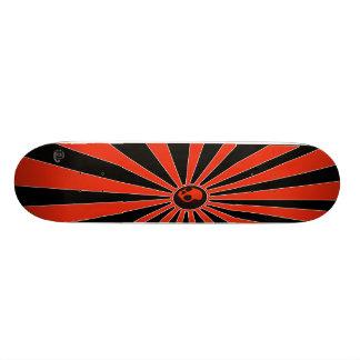 skateboard_skull_candy_v2 B-B Logo swirly Skate Board