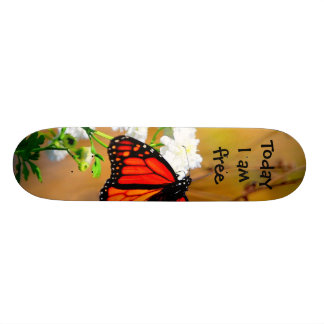 Skateboard Today I am free