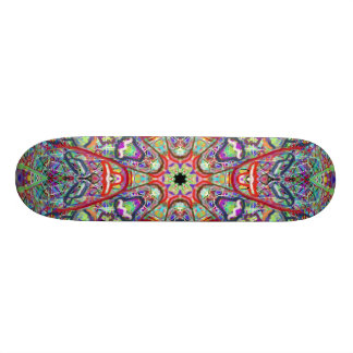"Skateboard ""Tribal Masks"" by MAR"