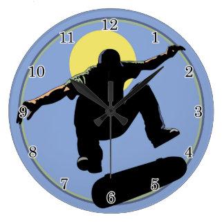 Skateboard Wall Clock