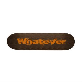 Skateboard whatever customizeable