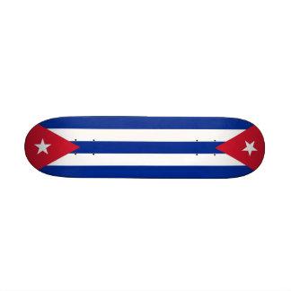 Skateboard with flag of Cuba