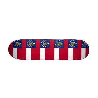 Skateboard with flag of Georgia