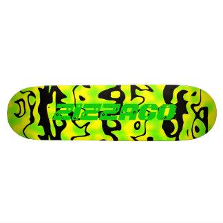 Skateboard Zizzago Wild Bright Lime Black Skate Deck