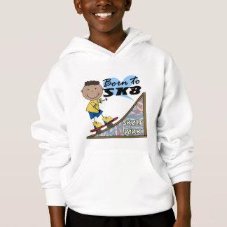 SKATEBOARDER - African American Boy