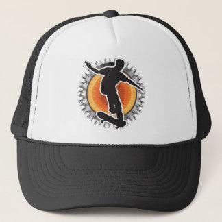 Skateboarder Design Trucker Hat