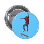 Skateboarder Get Some Air Action Street Kulcha Art Pin
