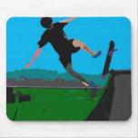 skateboarder mousepads