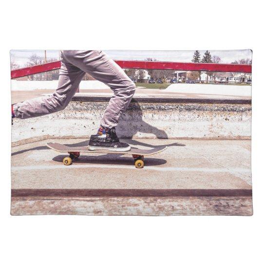 Skateboarder Place Mats