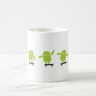 Skateboarding Android Coffee Mug
