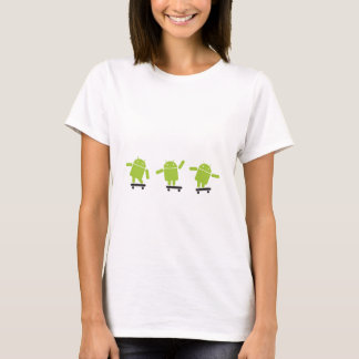 Skateboarding Android T-Shirt