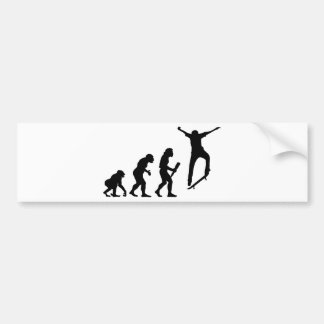 Skateboarding Bumper Sticker