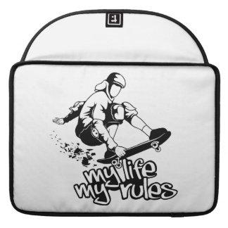 """Skateboarding custom 15"""" MacBook sleeve"""