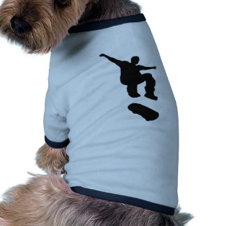 Skateboarding Doggie T-shirt