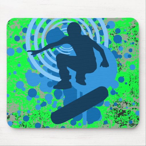 skateboarding : hi-fi mousemat