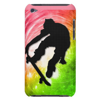 Skateboarding in a Psychedelic Cyclone iPod Touch Case-Mate Case