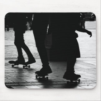 Skateboarding in Central Park, NYC Mouse Mat