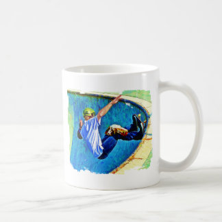 Skateboarding in the Bowl Coffee Mug