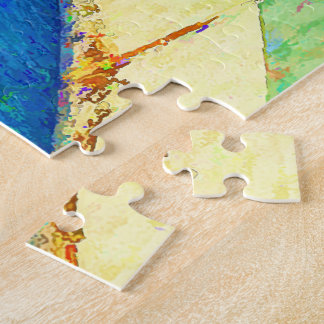Skateboarding in the Bowl copy Jigsaw Puzzle