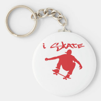 Skateboarding Key Ring