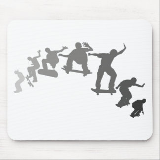 Skateboarding Mouse Pad