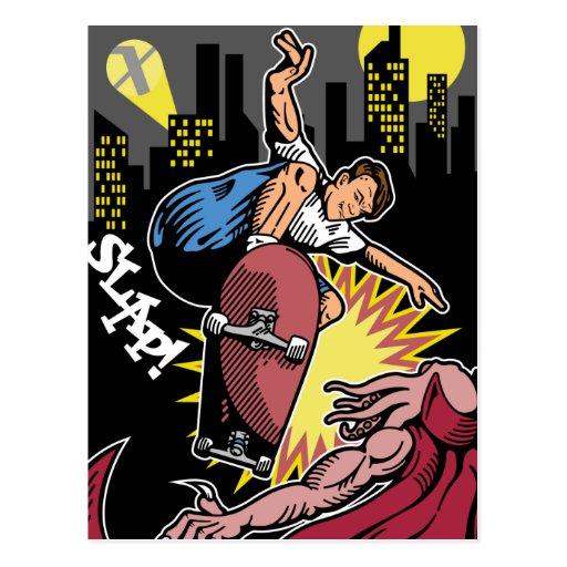 Skateboarding Post Cards