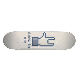 Skateboarding rocks!! skate board