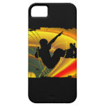 Skateboarding Silhouette in the Bowl iPhone 5 Cases