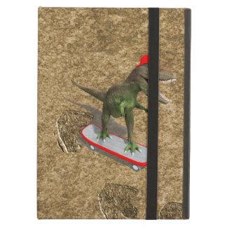 Skateboarding T-Rex iPad Covers
