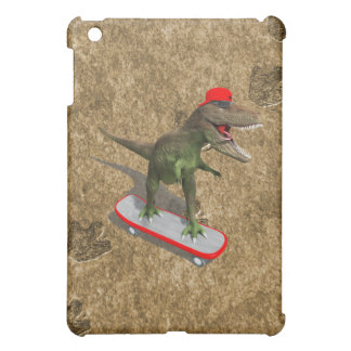 Skateboarding T-Rex iPad Mini Case