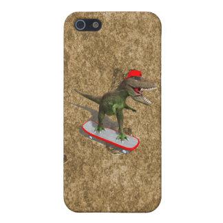 Skateboarding T-Rex iPhone 5 Case
