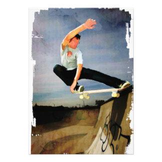 Skateboarding the Wall Custom Announcement