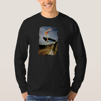 Skateboarding the Wall T-Shirt