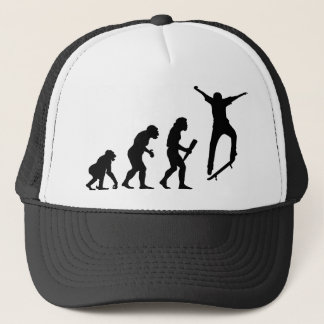 Skateboarding Trucker Hat