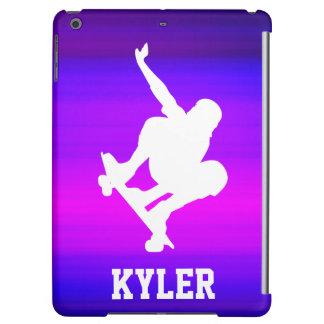 Skateboarding; Vibrant Violet Blue and Magenta