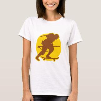 Skateboarding WWII T-Shirt