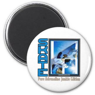Skateboardingbeast 6 Cm Round Magnet