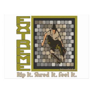 Skateboardingbeast Postcard